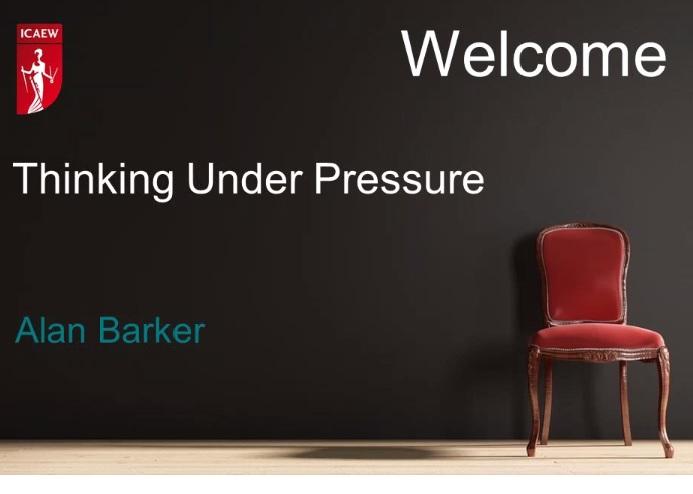 THinking under pressure